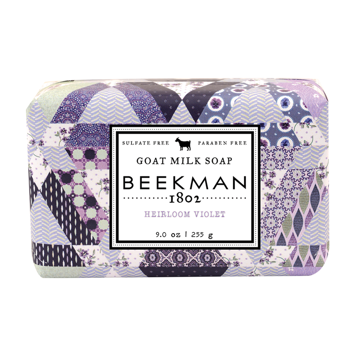 Heirloom Violet Goat Milk Bar Soap 9 oz