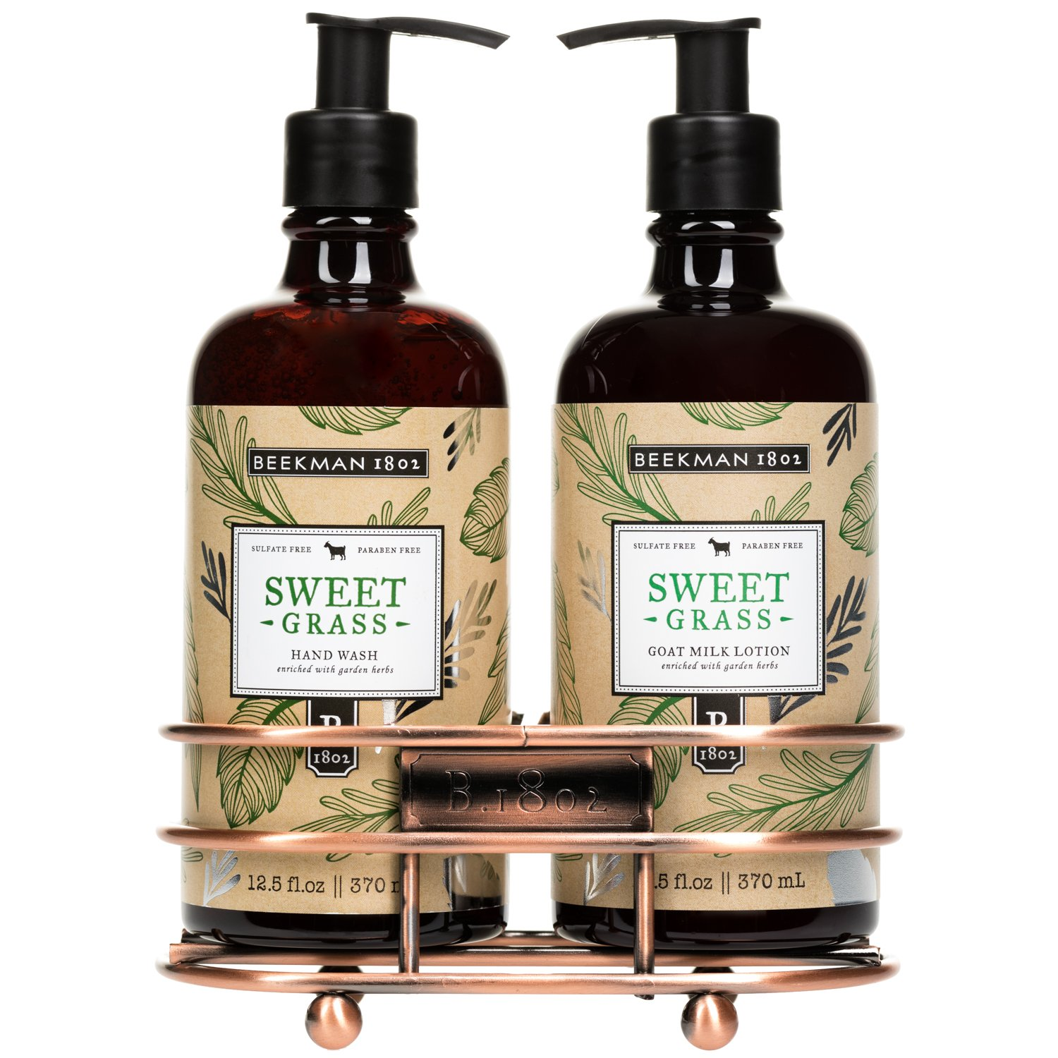 Sweet Grass Hand Care Duo Caddy Set