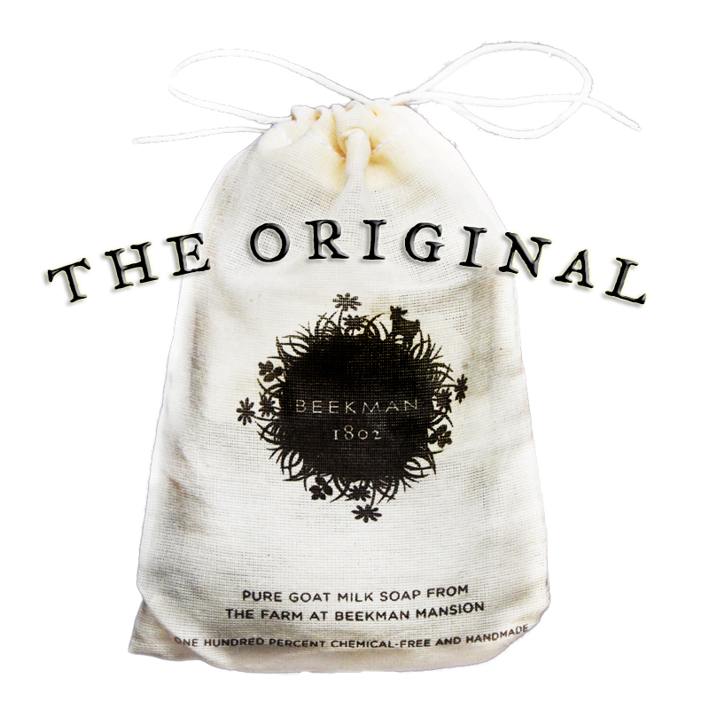Original Unscented Pure Goat Milk Soap 2 bar bag