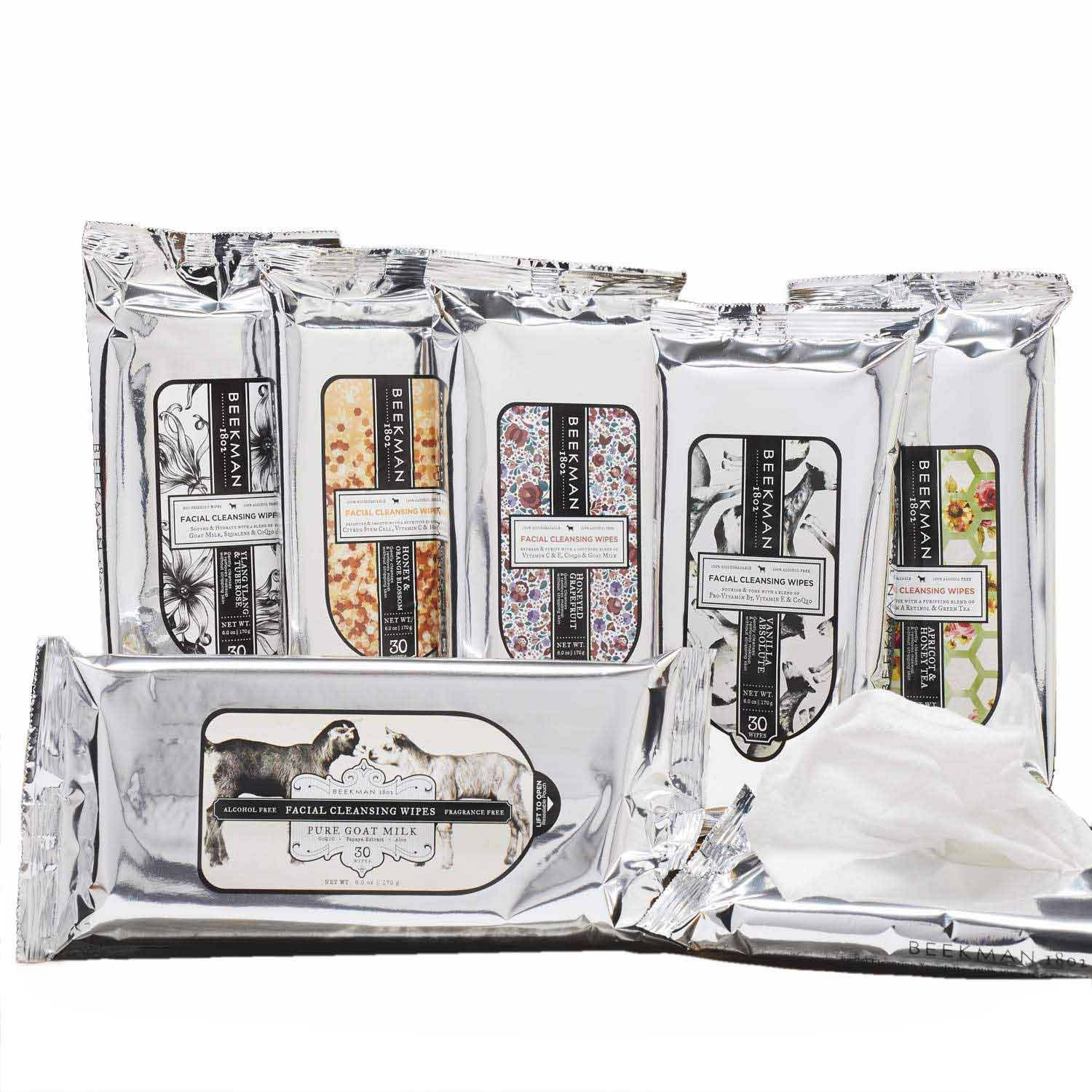 Face Wipes Collection