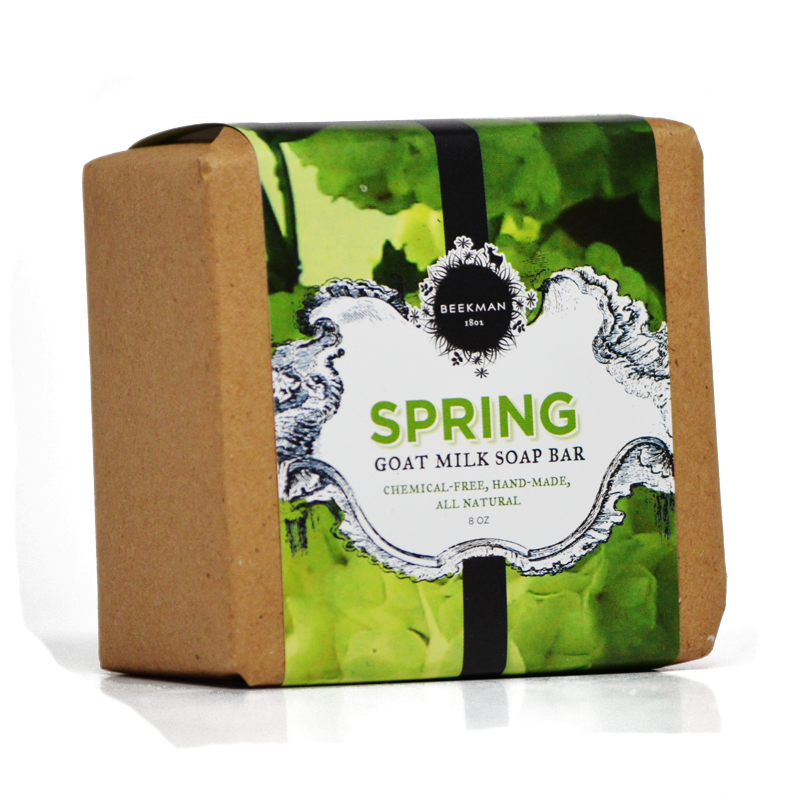 Scent of Spring Pure Goat Milk Bar Soap