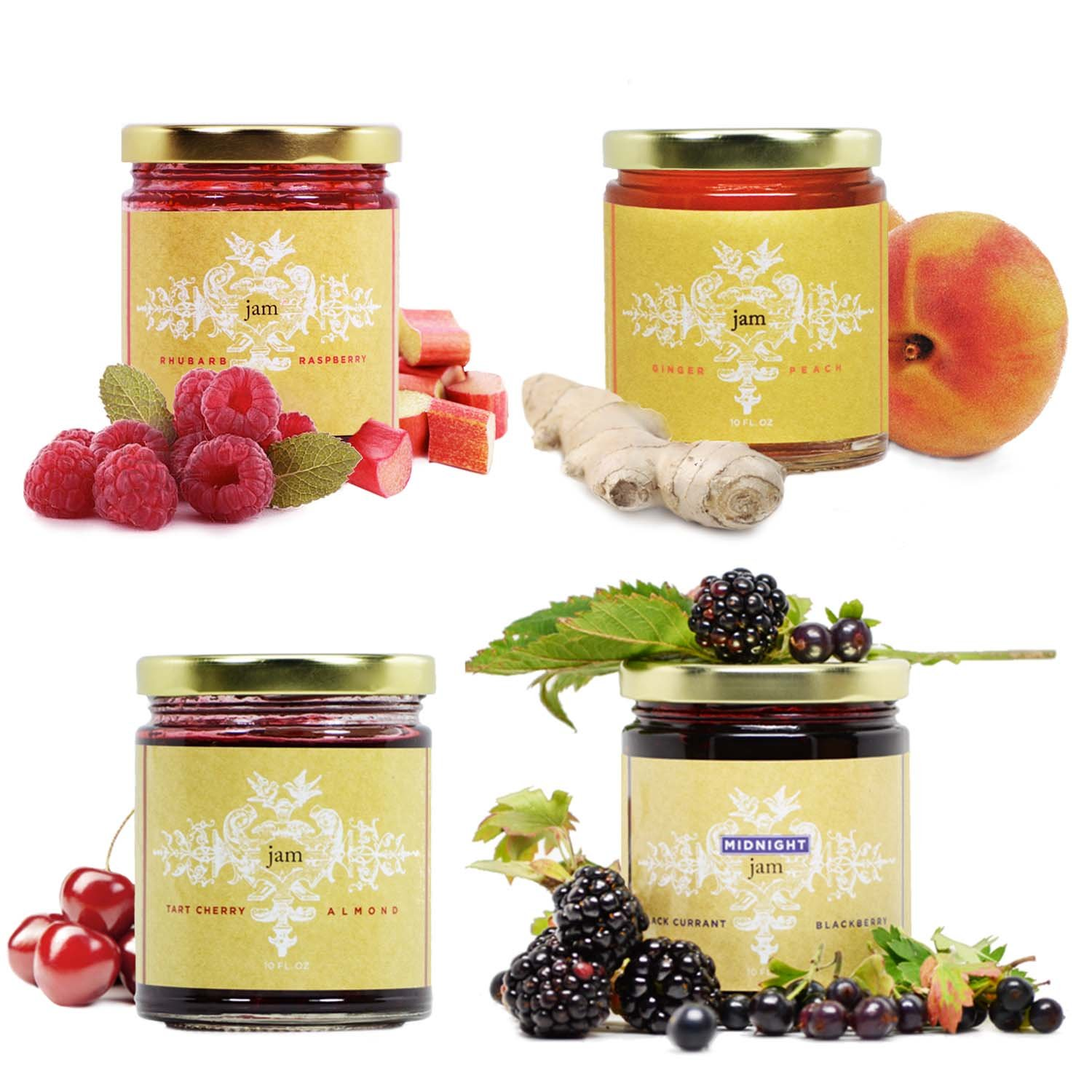 Farm Fruit Jam Collection