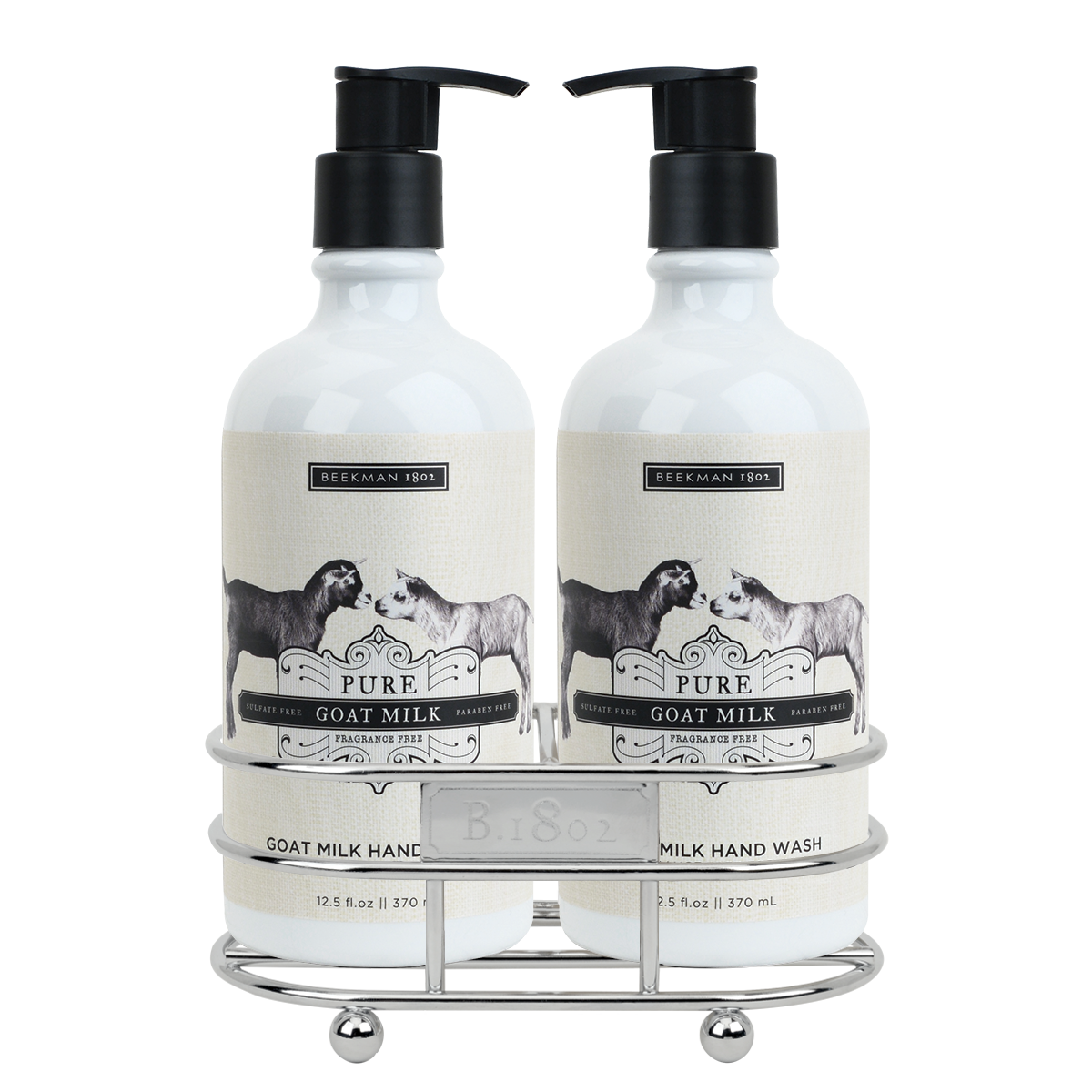 Pure Goat Milk Hand Care Duo Caddy Set