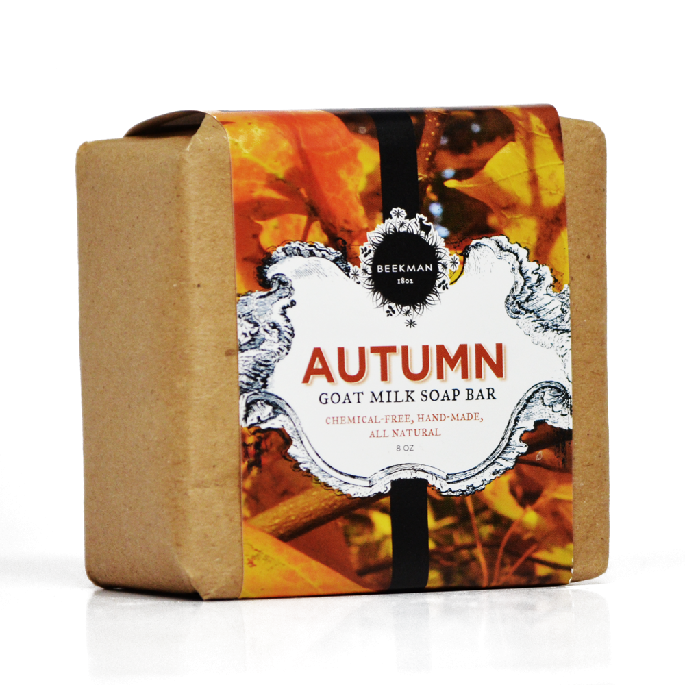Scent of Autumn Pure Goat Milk Bar Soap